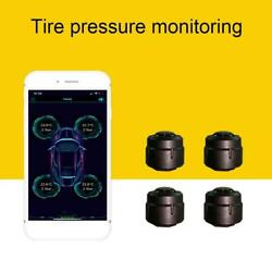 Motorcycle Tpms For Android/ios Bluetooth 5.0 Bar Led Display External Sensors