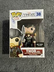 Funko Pop Marvel The Dark World 38 Thor With Helmet Hot Topic Exclusive Vaulted
