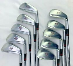 Wood Brothers Championship Balance Rare Muscle Back Iron Set 2-sw 10 Clubs