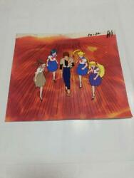 Vintage At That Time Pretty Guardian Sailor Moon Cel Anime