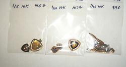 10k Gold Filled Scrap Lot All Marked 35.1 Grams