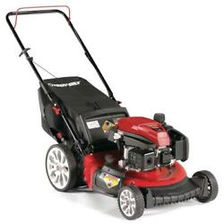 Troy-bilt Push Lawn Mower 21 In. 159cc Gas Powered 6-position Adjustable Speed