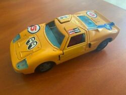 Antique Bandai Battery Ford Gt40 Orange Working