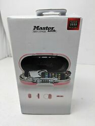 Master Lock Personal Safe, Set Your Own Combination Portable Safespace, 9-17/32
