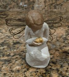 Willow Tree Angel Of Miracles Sculpted Figure, Susan Lordi W/box No Card