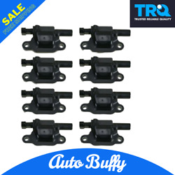 Trq Ignition Coil Set Of8 Fits Chevy Pontiac Gmc Buick Cadillac Pickup Truck Suv