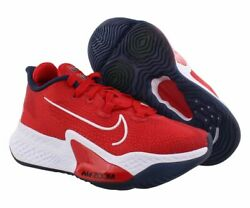 Nike Air Zoom Bb Next Unisex Shoes Size 3.5 Color Sport Red/white/obsidian