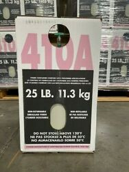R410a Refrigerant 25 Lbs. Factory Sealed Virgin Free Same Day Shipping By 3pm
