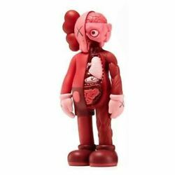 Medicom Toy Doll Figure Kaws Cowes Companion Flyed Open Edition Blush Red