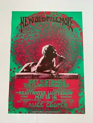 Iggy And The Stooges Flaminand039 Groovies Commander Cody Alice Cooper 1970 Poster