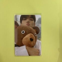 Nct 127 Bear Taeyong Sticker Ver. Official Photocard Photo Card Only