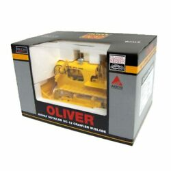 1/16 High Detail Oliver Oc-12 Crawler With Blade And Steel Tracks Spec Cast Sct289
