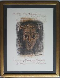 2 Offers Recand039d Pablo Picasso 1881-1973 Original Limited Edition Lithograph