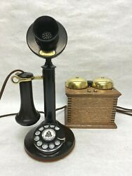 Western Electric Candlestick Telephone Restored Working