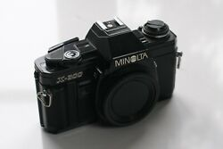 Minolta X-300 35mm Slr Film Camera Body Only. Great To Learn Photography
