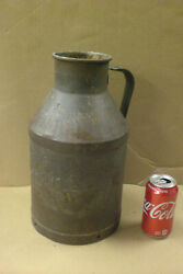 Vintage Antique Bordenand039s Cream Milk Can Indianapolis Ind Farm Dairy Ice Indy Old