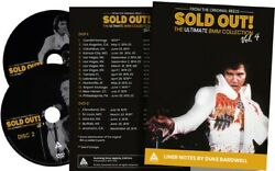 Elvis Sold Out Vol. 4 Deluxe Digipack Sealed 2 Dvds 2h40 On Tour 1974-1976 Rare