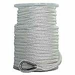 Sgt Knots Nylon Double Braid Anchor Line With Thimble For Boat Anchors And Ma...