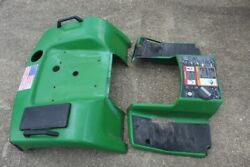 Fender Deck And Tunnel Pan, John Deere 425 Lawn Tractor Used, Includes Tail Lights