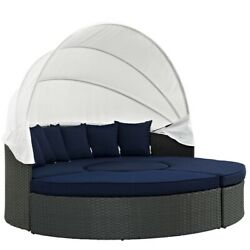 Sojourn Outdoor Patio Sunbrella Daybed Canvas Navy Size
