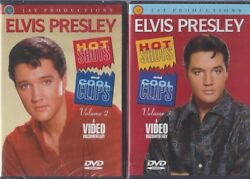 Elvis Presley Hot Shot And Cool Clips Vol 2 Vol 3 Vol 4 And Vol 5 Dvds Rare And Sealed