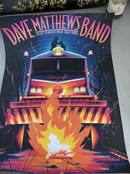 Dave Matthews Band Poster August 27,2021 Burgettstown, Pa By Arno Kiss 663/850
