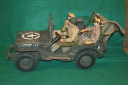 Gi Joe Like 21st Century Toys / Ultimate Soldier 1/6 Wwii 1943 Mb Jeep Us Army