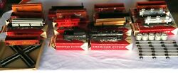 1958 American Flyer By Gilbert 20460 Train Set 14 Cars W/ Engine S Scale Gauge