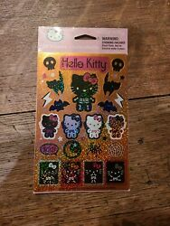 NEW Halloween Sanrio Hello Kitty Stickers Holofoil2009 Pack 2 Sheets 58 Sticker
