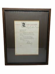 Authentic John F. Kennedy - Typed Letter Signed 07-05-1960