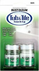 Rust-oleum, White 244166 Specialty Kit Tub And Tile Touch, 2 Piece Set