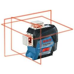 Bosch Gll3-330c 360 Degree Connected 3-plane Leveling And Alignment-line Laser