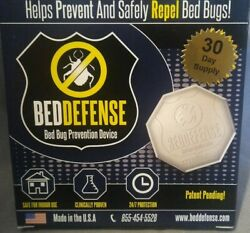 5 Packs Beddefense Bed Bug Prevention Device 30 Day Supply Each Pack,free Ship