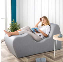 Chaise Lounge Chair Zero Gravity Recliner Lounger Sofa Day Bed Gray Relax Bed