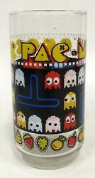 Bally Midway Mfg Co Pac Man Glass Pokey Clyde Army And Air Force Exchange 1980