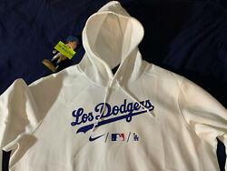 New Xxl Nike City Connect Los Angeles Dodgers Hoodie Los Dodgers Sold Out