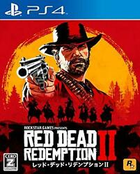 Red Dead Redemption 2 Ps4 Free Shipping With Tracking Number New From Japan