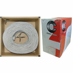 Shielded Security/alarm Wire Gray 22/8 22awg 8 Conductor Stranded Cm …
