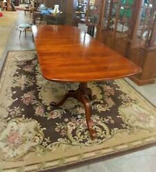 Bob Timberlake Double Pedestal Dining Table And 4 Chairs 6-8 Weeks Shipping