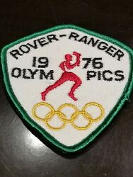 1960s 1970s Girl Guides Canada Ontario Rover Ranger 1976 Olympics Badge Patch