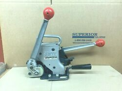 Signode Am34 Manual Combination Tool For 3/4 Steel Strapping- Demo Tool