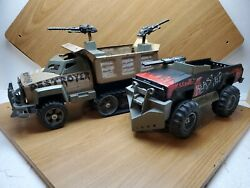 1983 Tonka Steel Monsters Blaster And Destroyer Trucks Mad Max Style