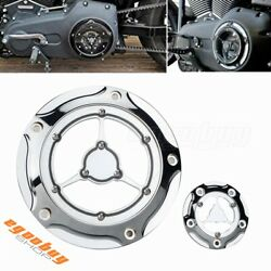 5 Hole Motorcycle Derby Timing Cover For Harley Dyna 1999-2017 Touring 1999-2015