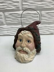 Bethany Lowe Vintage Style Old World Santa Head Candy Container