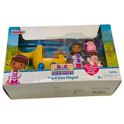 Disney Junior Doc Mcstuffins Toy Hospital Fun And Care Playset Helicopter Gift Pre