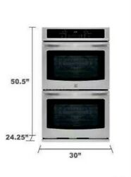 Kenmore Stainless Steel Electric Double Wall Oven 30 49443 Select Clean New