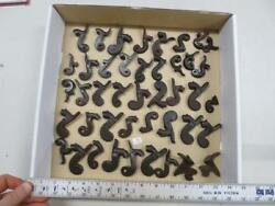 43 Assorted 19th Century Hammer Parts For Percussion Musket, Etc 34