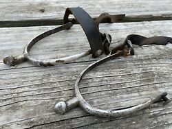 Antique Cavalry / Military English Spurs Maxwell Piccadilly England