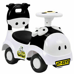 Gymax 3-in-1 Sliding Car Pushing Cart Walker Toddlers Ride On Toy Baby Calf W/