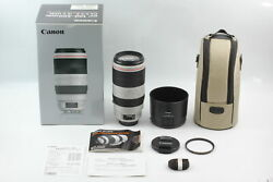 [mint In Box] Canon Ef 100-400mm F/4.5-5.6l Is Ii Usm Telephoto Zoom Lens Japan